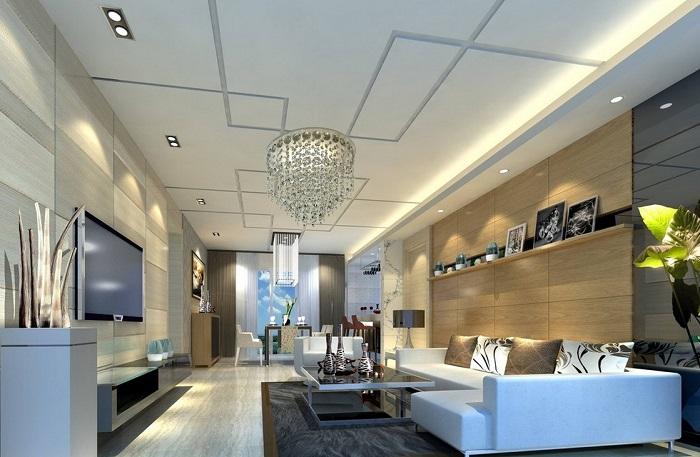 Xu hướng thiết kế nội thất phòng khách sang trọng và hiện đại